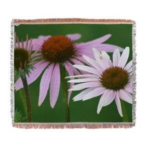 pink floral woven_blanket